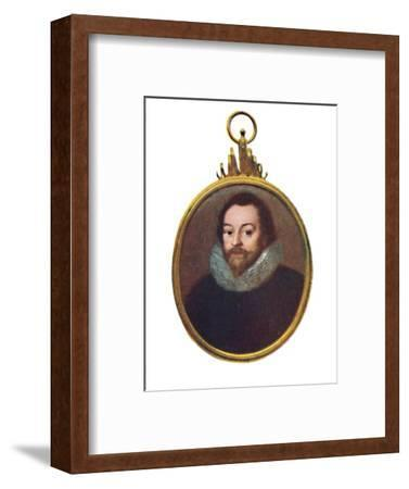 'Sir Francis Drake', c1580-1610, (1903)-Unknown-Framed Giclee Print