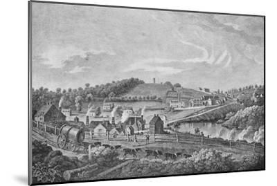 'Coalbrookdale in 1758', 1758, (1904)-Unknown-Mounted Giclee Print