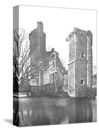 'Brickwork at Caister Castle, Norfolk', 1903-Unknown-Stretched Canvas Print