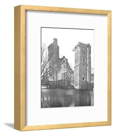 'Brickwork at Caister Castle, Norfolk', 1903-Unknown-Framed Photographic Print