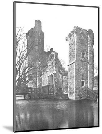 'Brickwork at Caister Castle, Norfolk', 1903-Unknown-Mounted Photographic Print