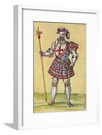 'Soldiers of the Tudor Period', c16th century, (1903)-Unknown-Framed Giclee Print