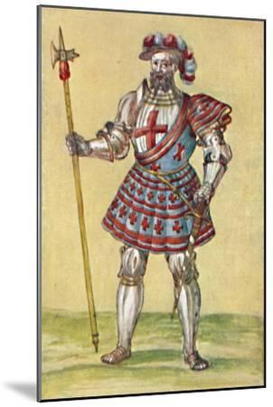 'Soldiers of the Tudor Period', c16th century, (1903)-Unknown-Mounted Giclee Print