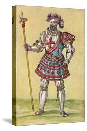 'Soldiers of the Tudor Period', c16th century, (1903)-Unknown-Stretched Canvas Print