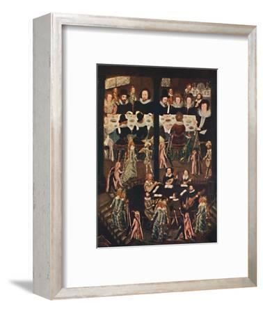 'Marriage Feast of Sir Henry Unton', c1596, (1903)-Unknown-Framed Giclee Print