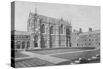 'Quadrangle, Keble College, Oxford', 1904-Unknown-Stretched Canvas Print