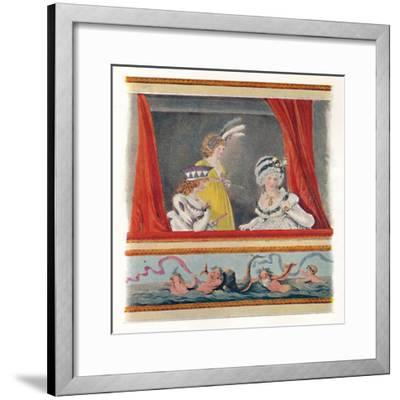 'Ladies In Evening Dress', 1796, (1904)-Unknown-Framed Giclee Print