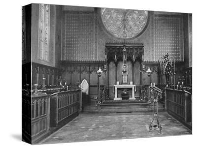 'The Chancel, Catholic Apostolic Church, Albury Park', 1904-Unknown-Stretched Canvas Print