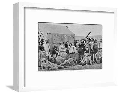 'The Rivabellosa Expedition, 1860', 1860, (1904)-Unknown-Framed Photographic Print