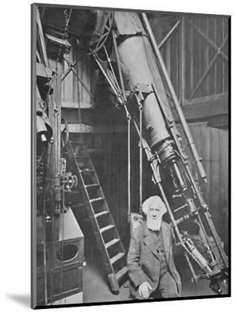'Observatory of Sir William Huggins, K.C.B., Tulse Hill', 1904-Unknown-Mounted Photographic Print