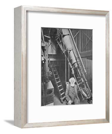 'Observatory of Sir William Huggins, K.C.B., Tulse Hill', 1904-Unknown-Framed Photographic Print