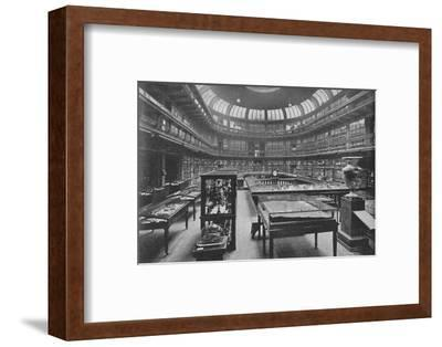 'Interior of the Geological Museum, Jermyn Street', 1904-Unknown-Framed Photographic Print