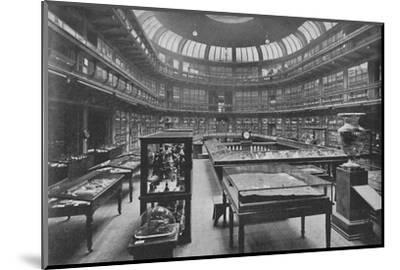 'Interior of the Geological Museum, Jermyn Street', 1904-Unknown-Mounted Photographic Print