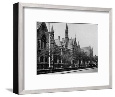 'University College, Nottingham', 1904-Unknown-Framed Photographic Print