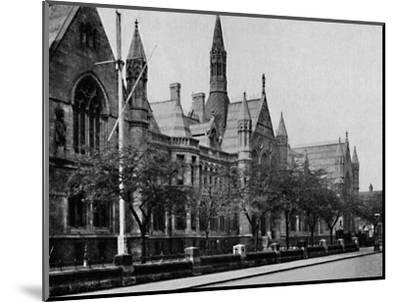 'University College, Nottingham', 1904-Unknown-Mounted Photographic Print