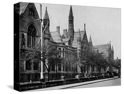'University College, Nottingham', 1904-Unknown-Stretched Canvas Print