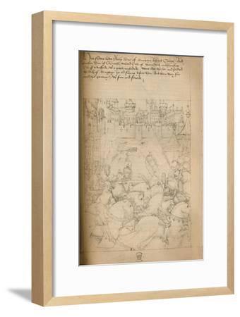 'Before Calais', 1903-Unknown-Framed Giclee Print