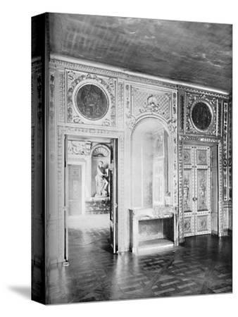 Salon, with Door Open into Dining Room - Hotel Lauzen-Unknown-Stretched Canvas Print
