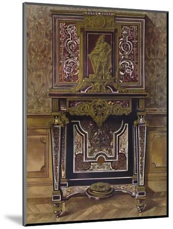 'Marquery Cabinet with decoration in gilt bronze, by AndrÚ Charles Boule', 1903-Unknown-Mounted Giclee Print