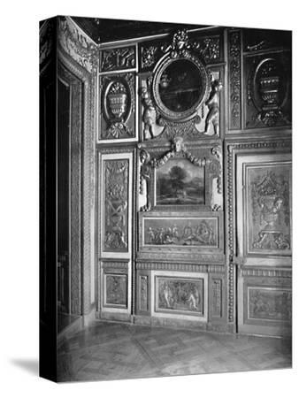 State Bedroom, Showing Alcove - Hotel Lauzen-Unknown-Stretched Canvas Print