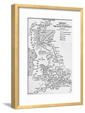 'The Northmen in England', 1902-Unknown-Framed Giclee Print