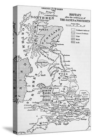 'The Northmen in England', 1902-Unknown-Stretched Canvas Print