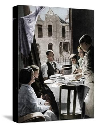 'The Family Must Eat', c1940 (1942)-Unknown-Stretched Canvas Print