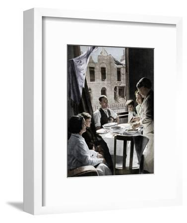 'The Family Must Eat', c1940 (1942)-Unknown-Framed Photographic Print