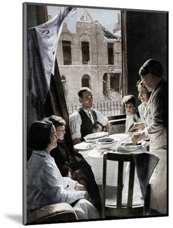 'The Family Must Eat', c1940 (1942)-Unknown-Mounted Photographic Print