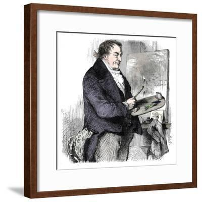 'JMW Turner, RA', (late 19th century)-Unknown-Framed Giclee Print