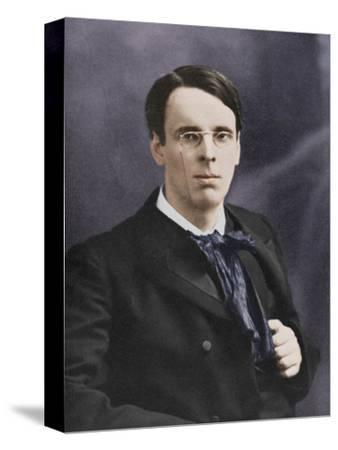 William Butler Yeats, Irish poet and playwright, c1900s-Unknown-Stretched Canvas Print