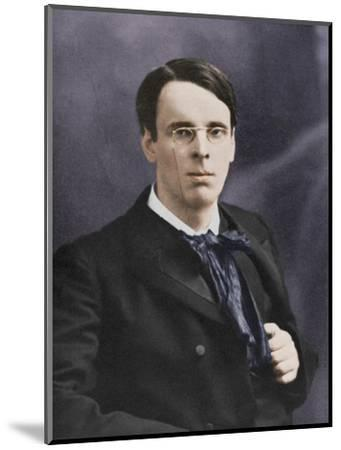 William Butler Yeats, Irish poet and playwright, c1900s-Unknown-Mounted Photographic Print