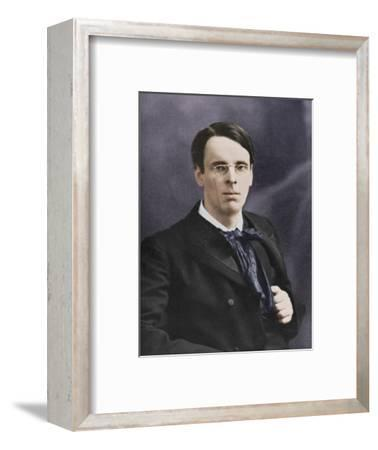 William Butler Yeats, Irish poet and playwright, c1900s-Unknown-Framed Photographic Print