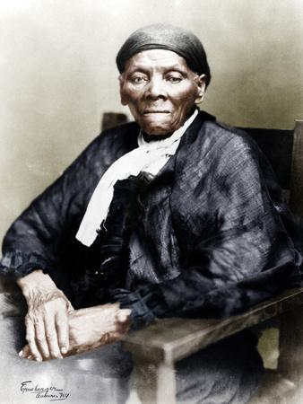 Harriet Tubman, American anti-slavery activist, c1900-Unknown-Framed Photographic Print