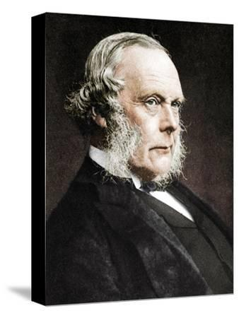 Joseph Lister, English surgeon and pioneer of antiseptic surgery, c1890-Unknown-Stretched Canvas Print