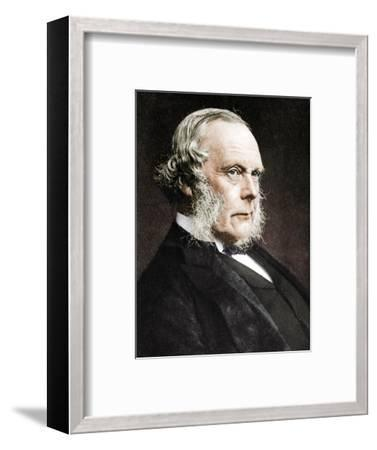 Joseph Lister, English surgeon and pioneer of antiseptic surgery, c1890-Unknown-Framed Photographic Print