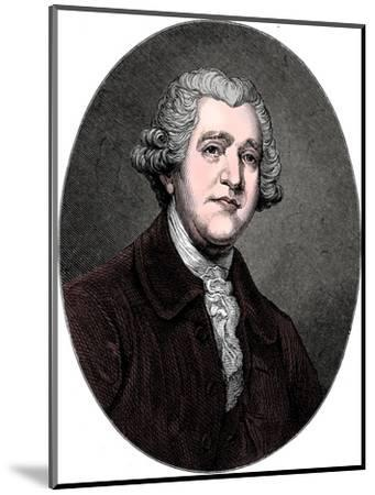 Josiah Wedgwood, 18th century English industrialist and potter, c1880-Unknown-Mounted Giclee Print