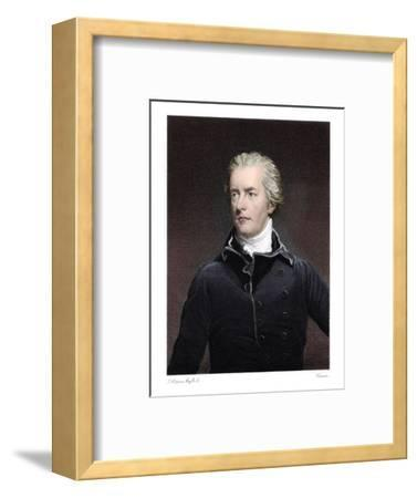 William Pitt the Younger, British statesman-Unknown-Framed Giclee Print