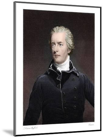William Pitt the Younger, British statesman-Unknown-Mounted Giclee Print