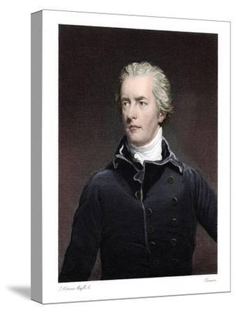 William Pitt the Younger, British statesman-Unknown-Stretched Canvas Print