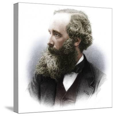 James Clerk Maxwell (1831-1879), Scottish theoretical physicist, 1882-Unknown-Stretched Canvas Print