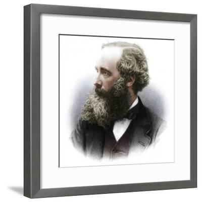 James Clerk Maxwell (1831-1879), Scottish theoretical physicist, 1882-Unknown-Framed Photographic Print