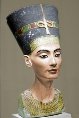 Head of Queen Nefertiti of Egypt-Unknown-Framed Giclee Print