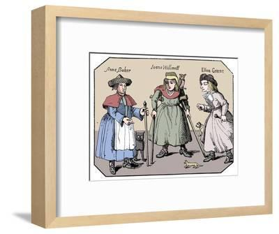 Associates of the Witches of Belvoir-Unknown-Framed Giclee Print