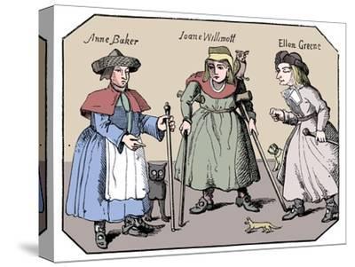 Associates of the Witches of Belvoir-Unknown-Stretched Canvas Print