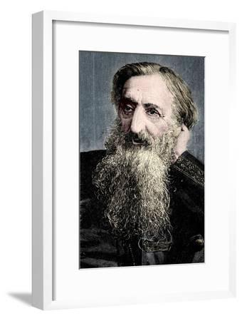 'General' William Booth, evangelical social worker and founder of the Salvation Army, 1894-Unknown-Framed Giclee Print