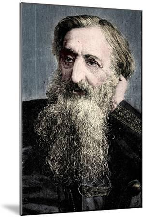'General' William Booth, evangelical social worker and founder of the Salvation Army, 1894-Unknown-Mounted Giclee Print