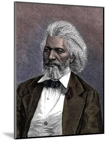 Frederick Douglass (1817-1895), American diplomat, abolitionist and writer, 1875-Unknown-Mounted Giclee Print