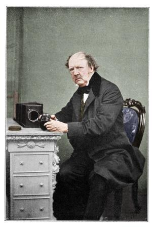 WH Fox Talbot, British photography pioneer, 1901-Unknown-Framed Photographic Print