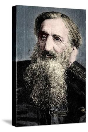 'General' William Booth, evangelical social worker and founder of the Salvation Army, 1894-Unknown-Stretched Canvas Print